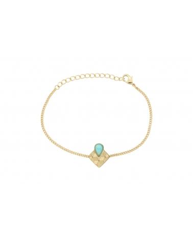 Bracelet chaîne Sienna en Amazonite