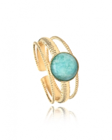 Bague Kali Medium Amazonite
