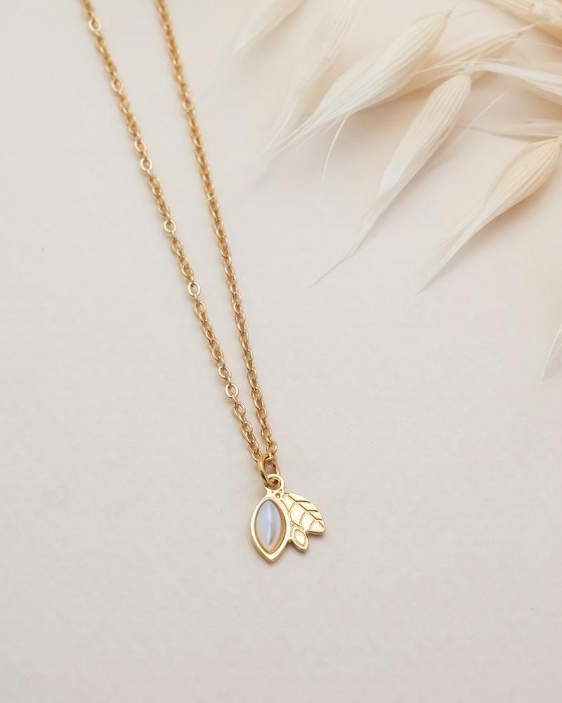 Petit collier Alice - Nacre