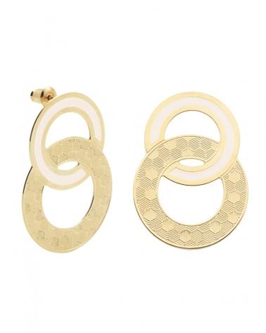 Maxi puces d'oreilles Isadora Ivoire