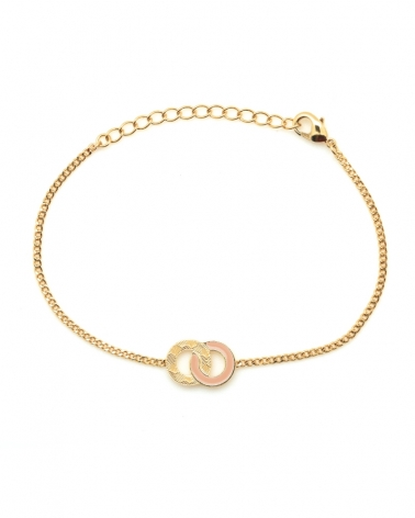 Bracelet chaîne Isadora Nude