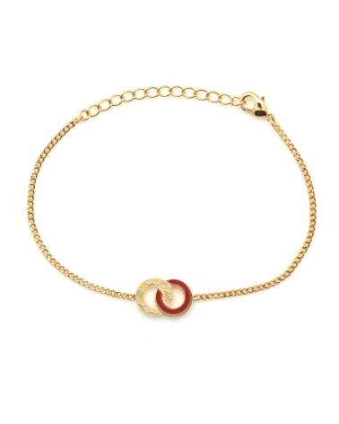 Bracelet chaîne Isadora TerraCotta