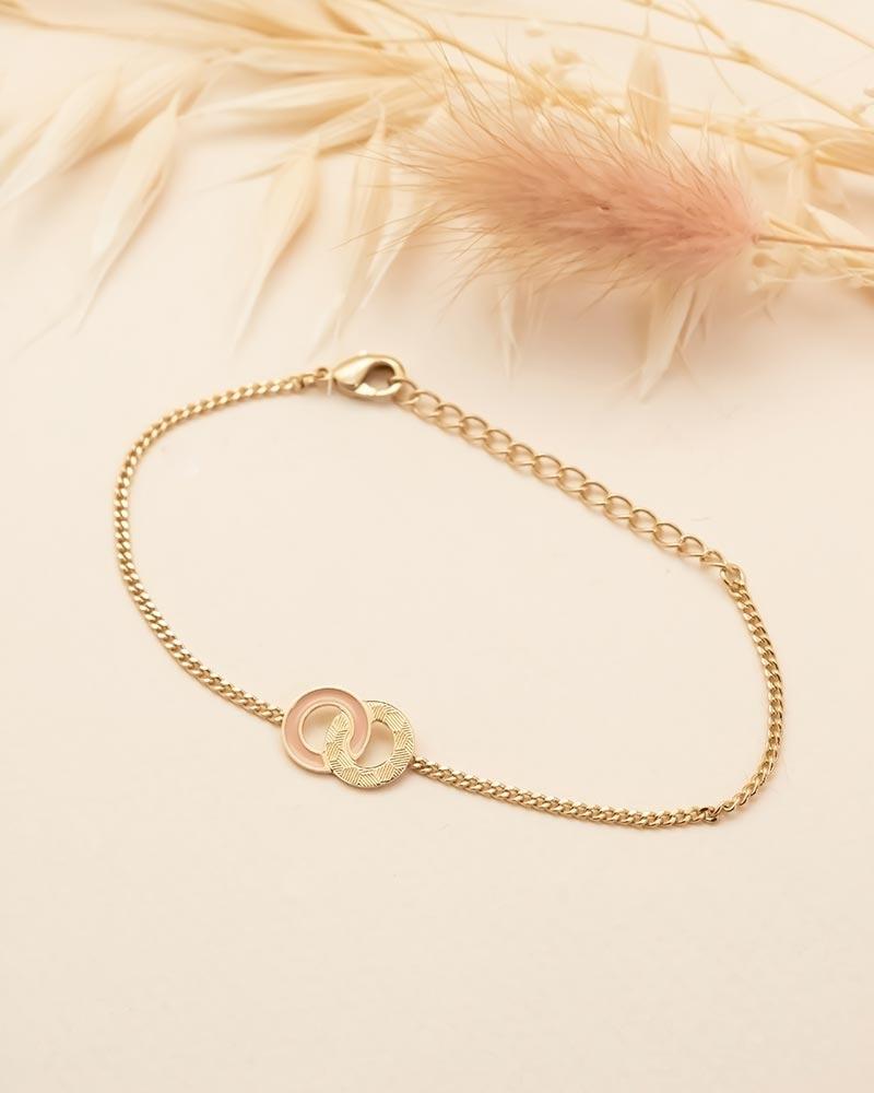 Bracelet Chaîne Isadora - Nude