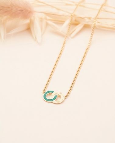 Petit Collier Isadora - Vert Emeraude
