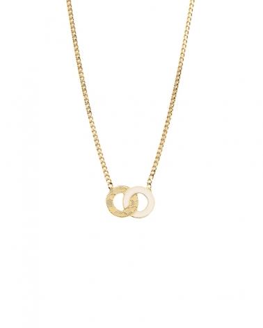 Petit collier Isadora ivoire