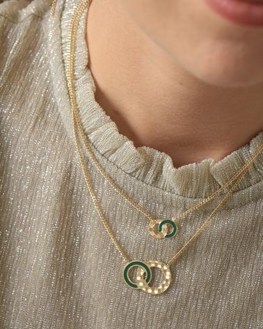 Colliers Isadora - Vert Emeraude