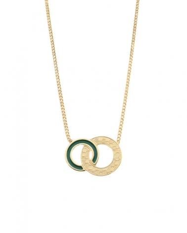 Collier Isadora Vert Émeraude