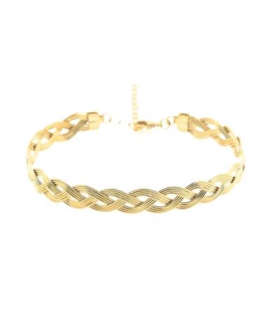 Bracelet Jonc Tressé