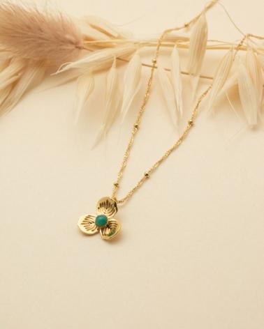 Petit Collier Primavera - Amazonite
