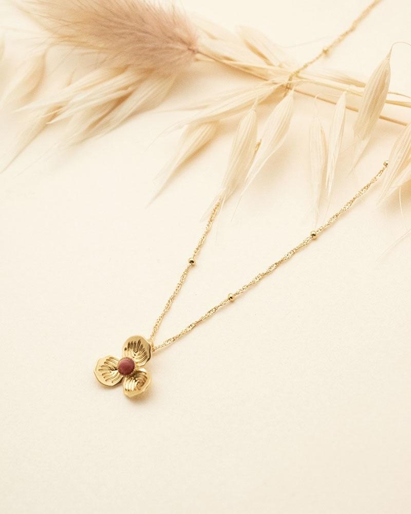 Petit Collier Primavera - Rhodonite