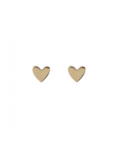 Petites Puces d'oreilles en forme de coeur