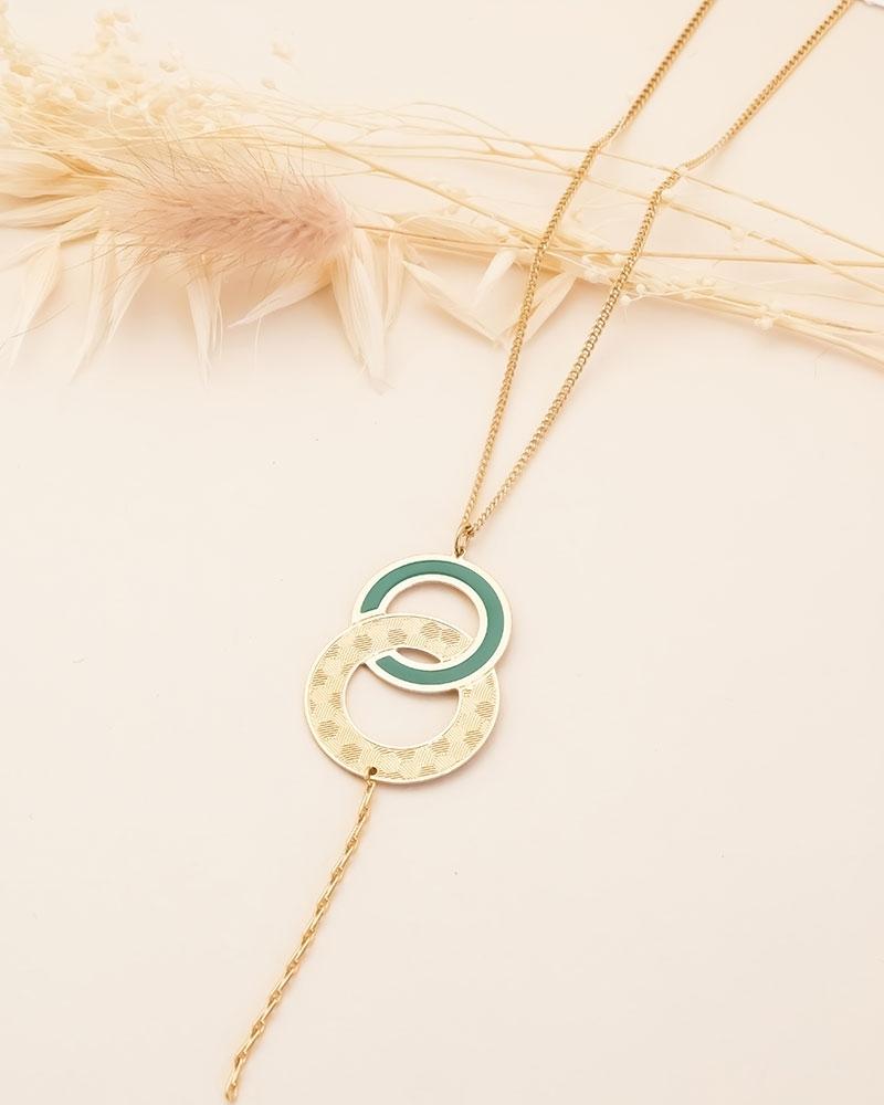 Sautoir Isadora - Vert Emeraude