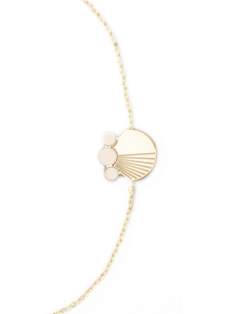 Bracelet chaine Zoom Ivoire