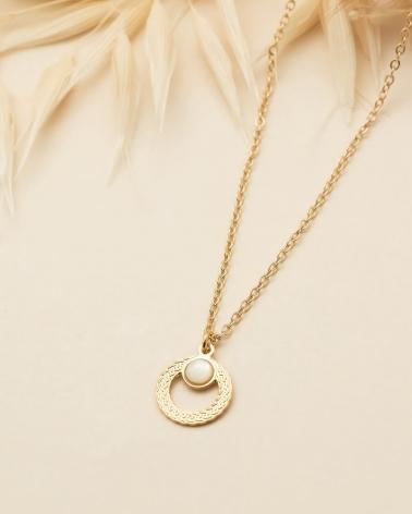 Petit collier Katniss en Nacre