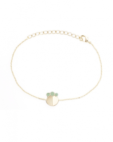 Bracelet chaine Eucalyptus