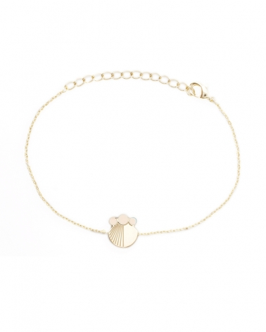 Bracelet chaine Ivoire