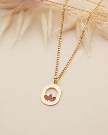 Petit collier Madison - Terracotta