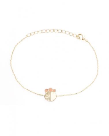 Bracelet chaine Nude