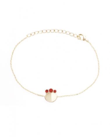Bracelet chaine TerraCotta