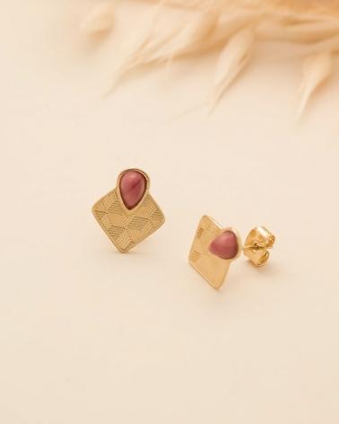 Petites puces Sienna - Rhodonite