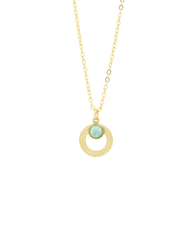 Petit Collier Katniss Amazonite