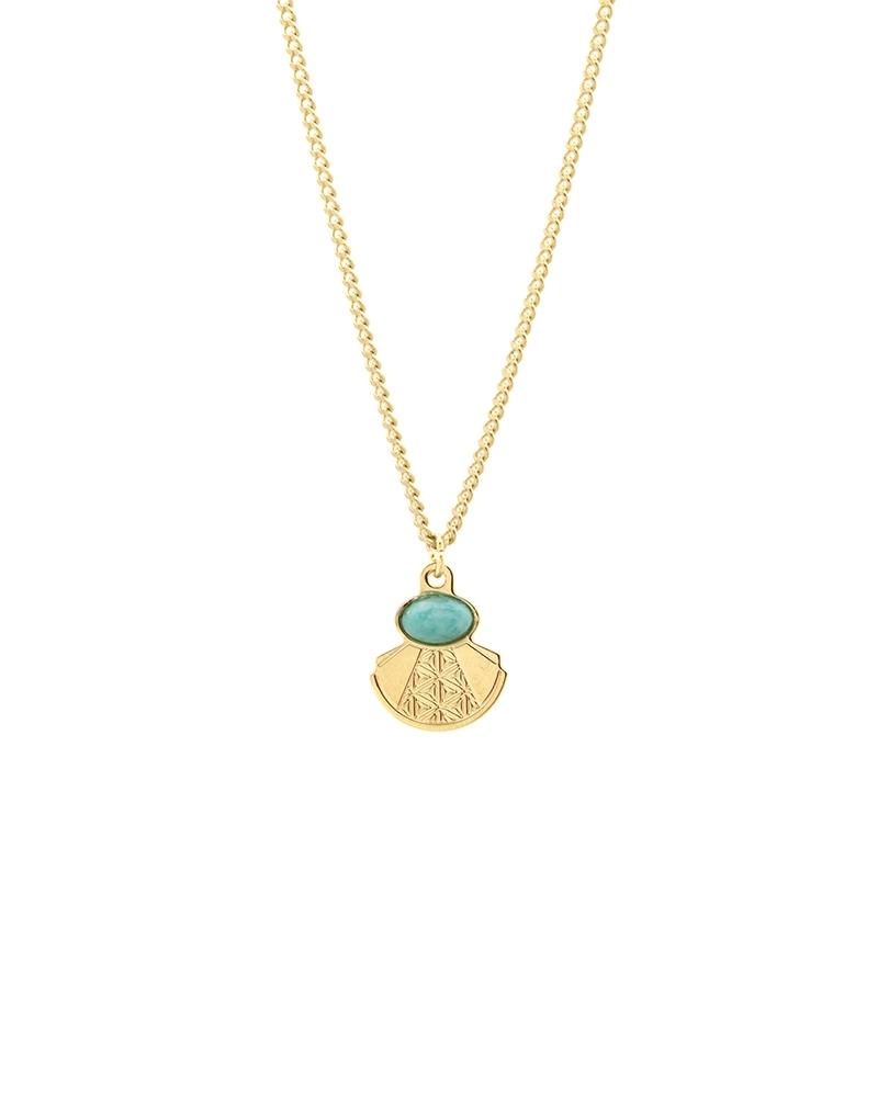 Petit collier Manhattan - Amazonite