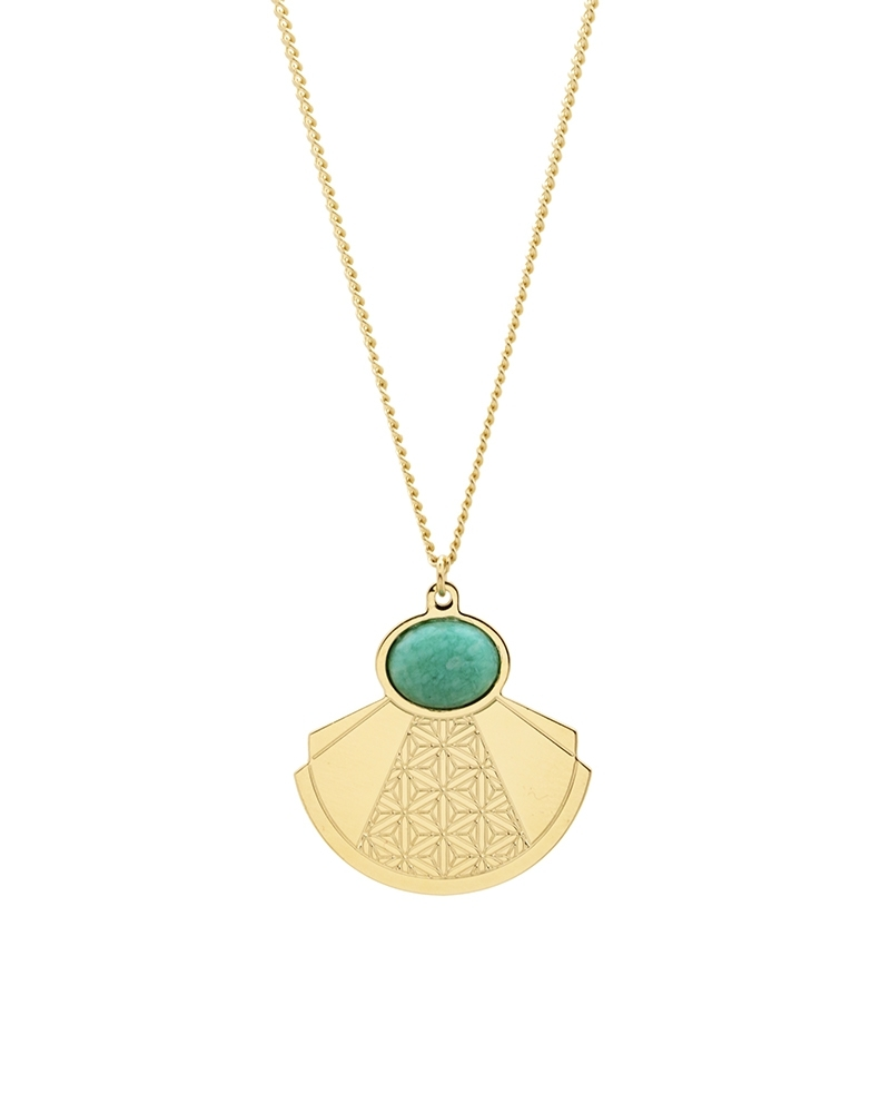 Maxi Collier - Manhattan Amazonite