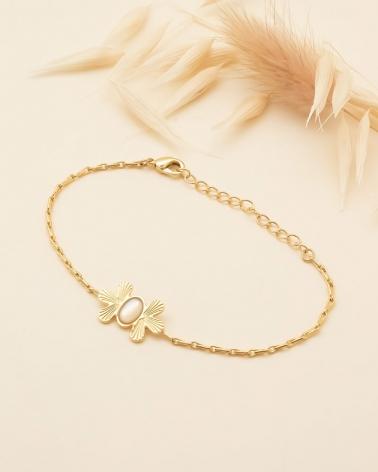 Waikiki - Bracelet Chaîne en Nacre
