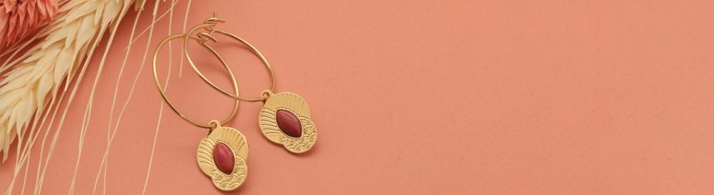 Découvrez les créoles - Boucles d'oreilles - Aurélie Joliff Bijoux